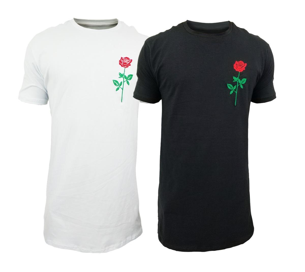 15aab83f0 camiseta camisa blusa longline oversized masculina rosa. Carregando zoom.