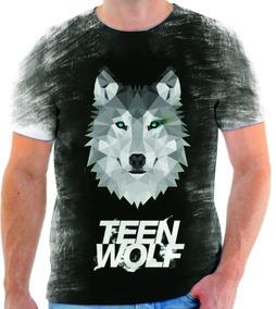 6db65be2a2 Camiseta Camisa Blusa Manga Curta Série Teen Wolf 17