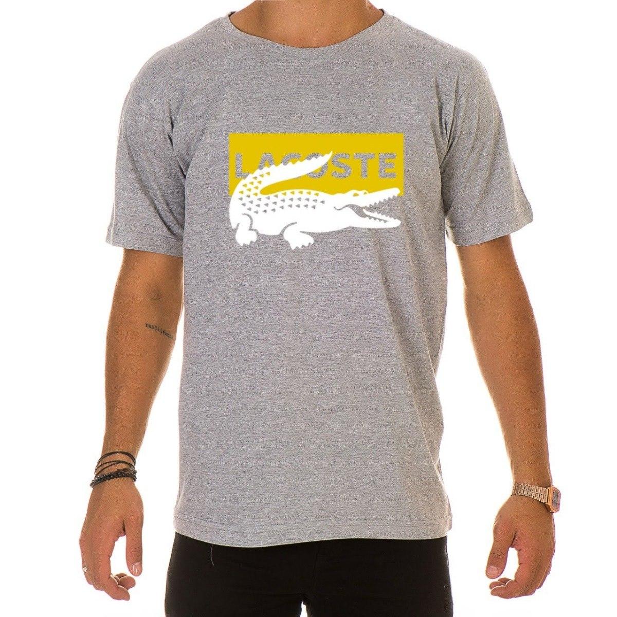 6bdc5339743dd camiseta camisa blusa masculina de marca lacoste. Carregando zoom.