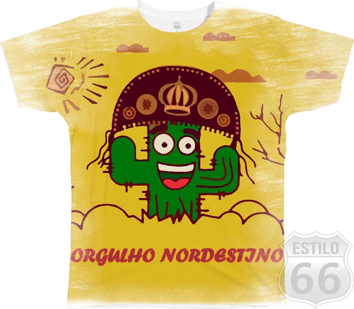 camiseta camisa blusa orgulho nordestino nordeste baião 5. Carregando zoom. 533723a03ca