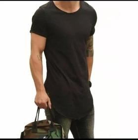 ebdbdaadc6 Kit 3 Camiseta Camisa Lon Gline Oversized Swag Masculina