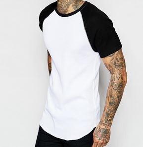 camiseta camisa blusa oversized longline kings swag raglan