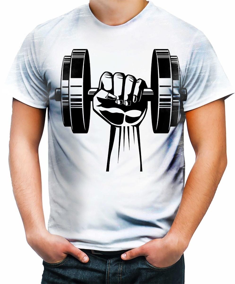 15c8fd368 camiseta camisa blusa personalizada academia fitness foco 1. Carregando zoom .