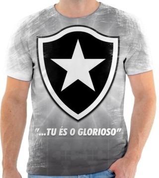 Camiseta Camisa Blusa Personalizada Estampa Botafogo 003 - R  60 a4c3f6aa8b71f