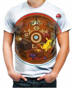 d53b4a9786 Pokemon Go Pokebola - Camisetas e Blusas no Mercado Livre Brasil