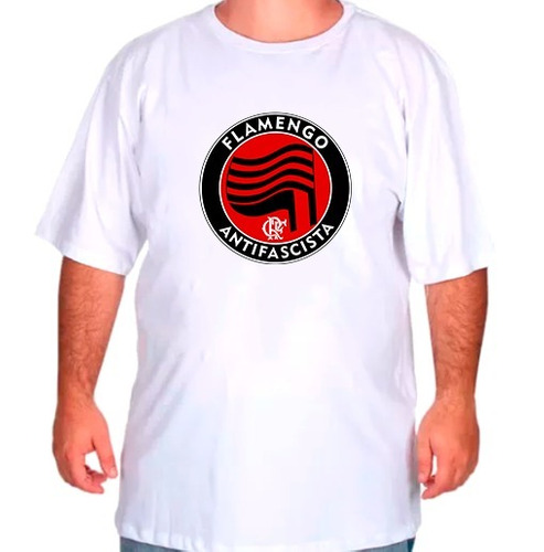 camiseta camisa blusa plus size g1 g2 g3 flamengo antifascis