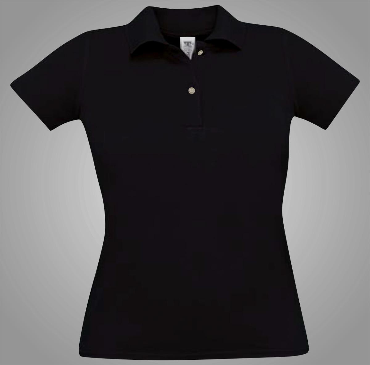 0ecd46ff6d camiseta camisa blusa polo lisa preta tradicional lisa. Carregando zoom.