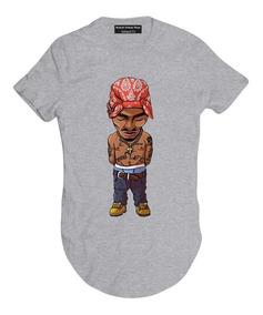 4de4c27fb2 Camisa Thug Life Egito Manga Curta Feminino - Camisetas e Blusas com o  Melhores Preços no Mercado Livre Brasil
