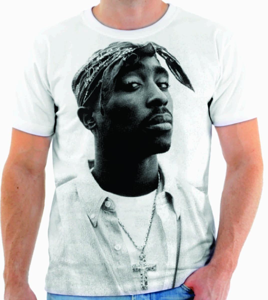 camiseta camisa blusa rapper hip hop tupac musica 09. Carregando zoom. 2abc2cefd8a