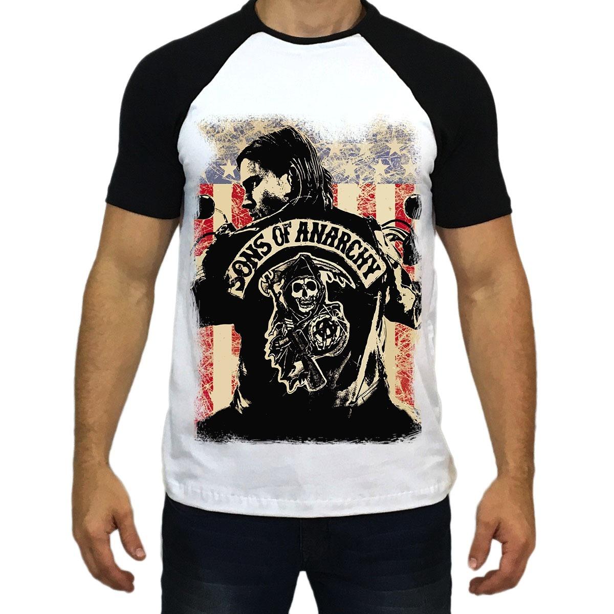 e9facee53e120 camiseta camisa blusa sons of anarchy filhos da anarquia. Carregando zoom.
