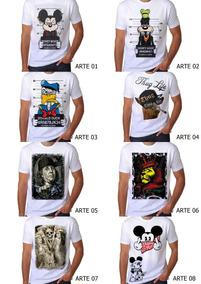 5610b05f39 Camisa Mickey Rap no Mercado Livre Brasil