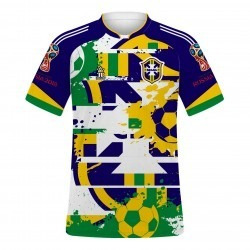 e842f3227c496 Camiseta Camisa Blusa Time Brasil Personalizada Com Nome!! - R  38 ...