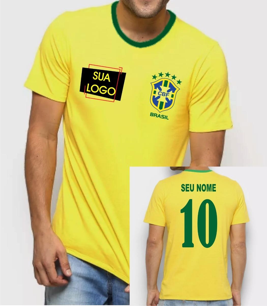 b7c96be5238ee camiseta camisa brasil copa do mundo russia kit claydson201. Carregando  zoom.