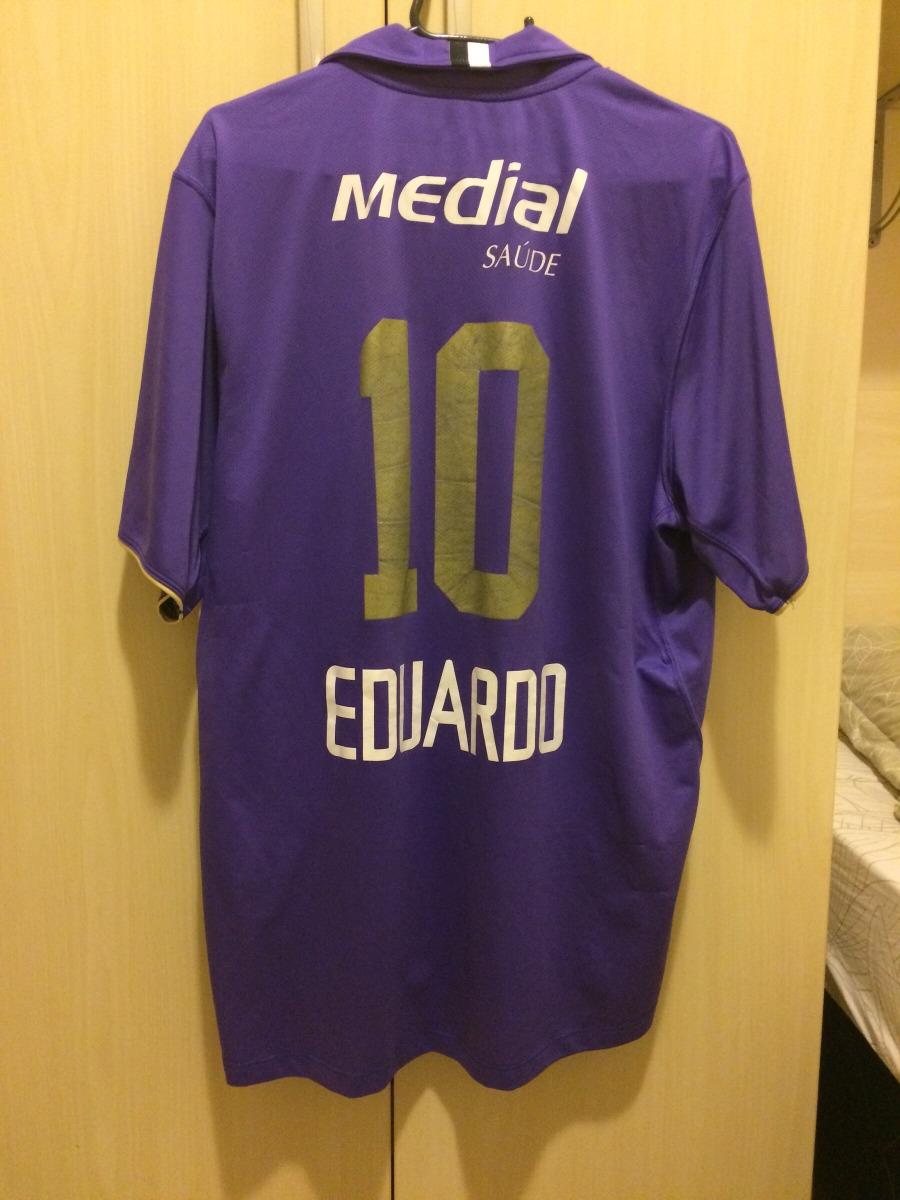 bc29fc8129 camiseta camisa corinthians 2008 medial roxa eduardo. Carregando zoom.