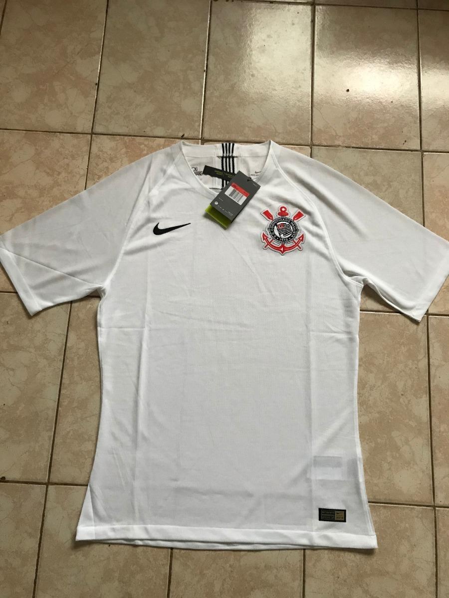 5e203d6e8c825 Camiseta Camisa Corinthians Branca Modelo Jogador 2018 G - R  180
