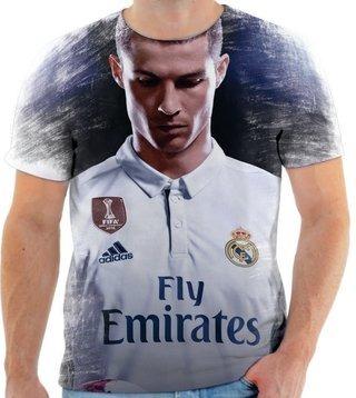 eae104749b Camiseta Camisa Cristiano Ronaldo Real Madrid Cr7 03 - R  49