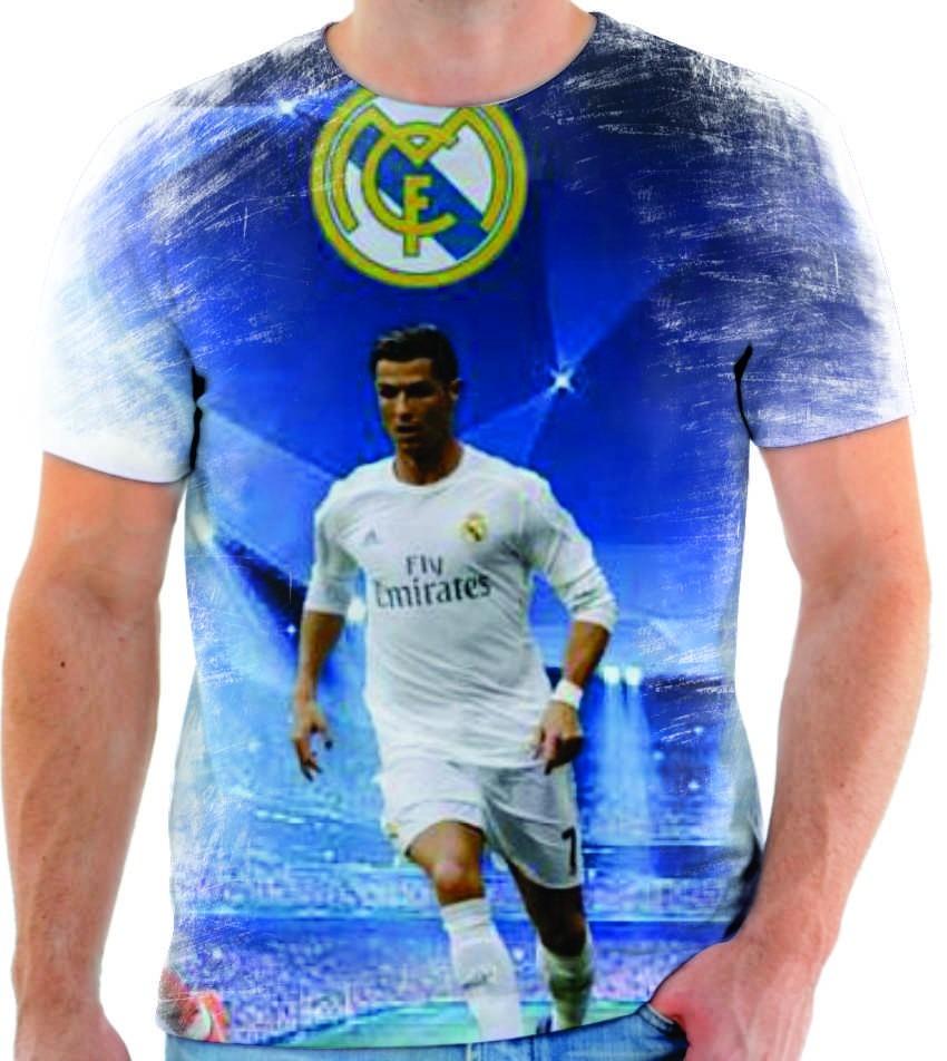352a5bce0f camiseta camisa cristiano ronaldo real madrid cr7 18. Carregando zoom.