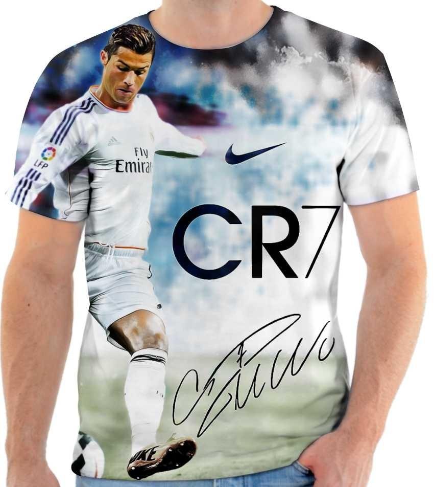 740e151069501 camiseta camisa cristiano ronaldo real madrid cr7. Carregando zoom.