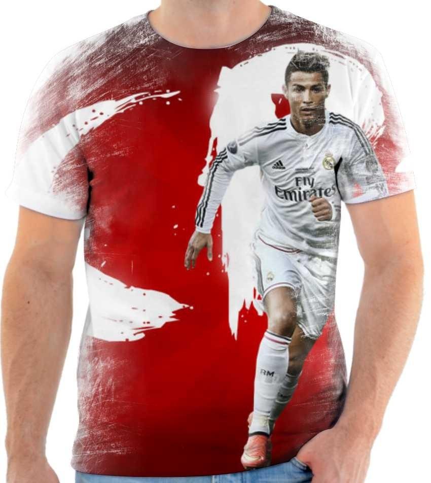 20f1ef40c2 camiseta camisa cristiano ronaldo real madrid cr7 mod 03. Carregando zoom.