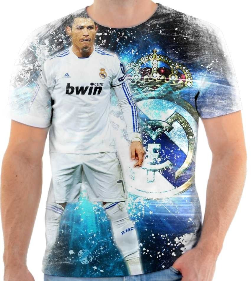 848af15904 camiseta camisa cristiano ronaldo real madrid cr7 mod 04. Carregando zoom.