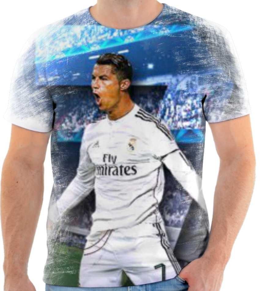 9907ad8f9a camiseta camisa cristiano ronaldo real madrid cr7 mod 05. Carregando zoom.