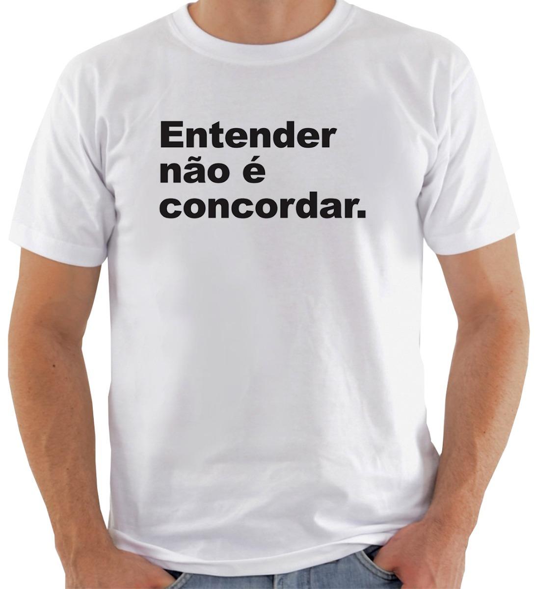 4c2ce99c1e camiseta camisa entender não é concordar moda tumblr. Carregando zoom.