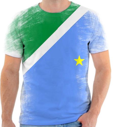 camiseta, camisa estado de mato grosso do sul bandeira 2