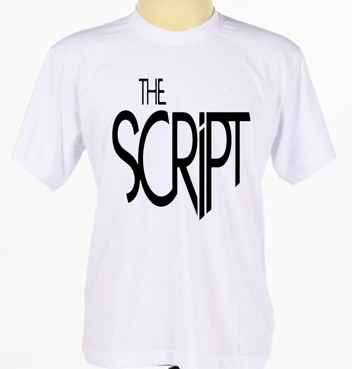 camiseta camisa estampada the script banda rock alternativo. Carregando zoom . 4a68b8b4ef473