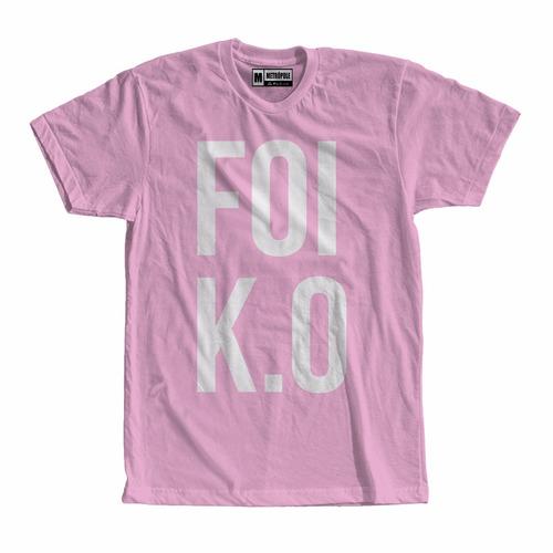 camiseta camisa foi k.o. ko pablo vittar empoderamento