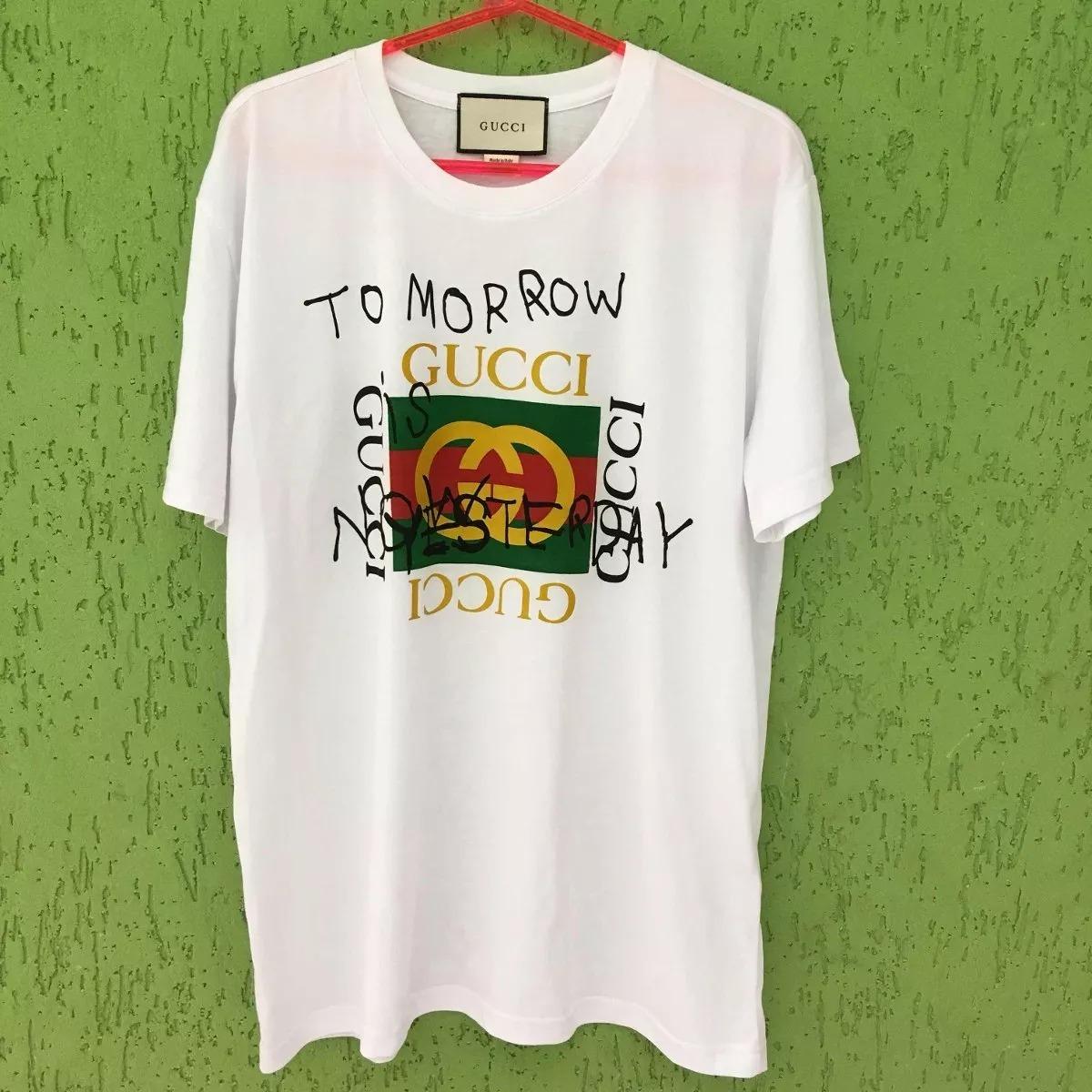 camiseta camisa gucci masculina lançamento foto original !!! Carregando zoom . d95bafe773f