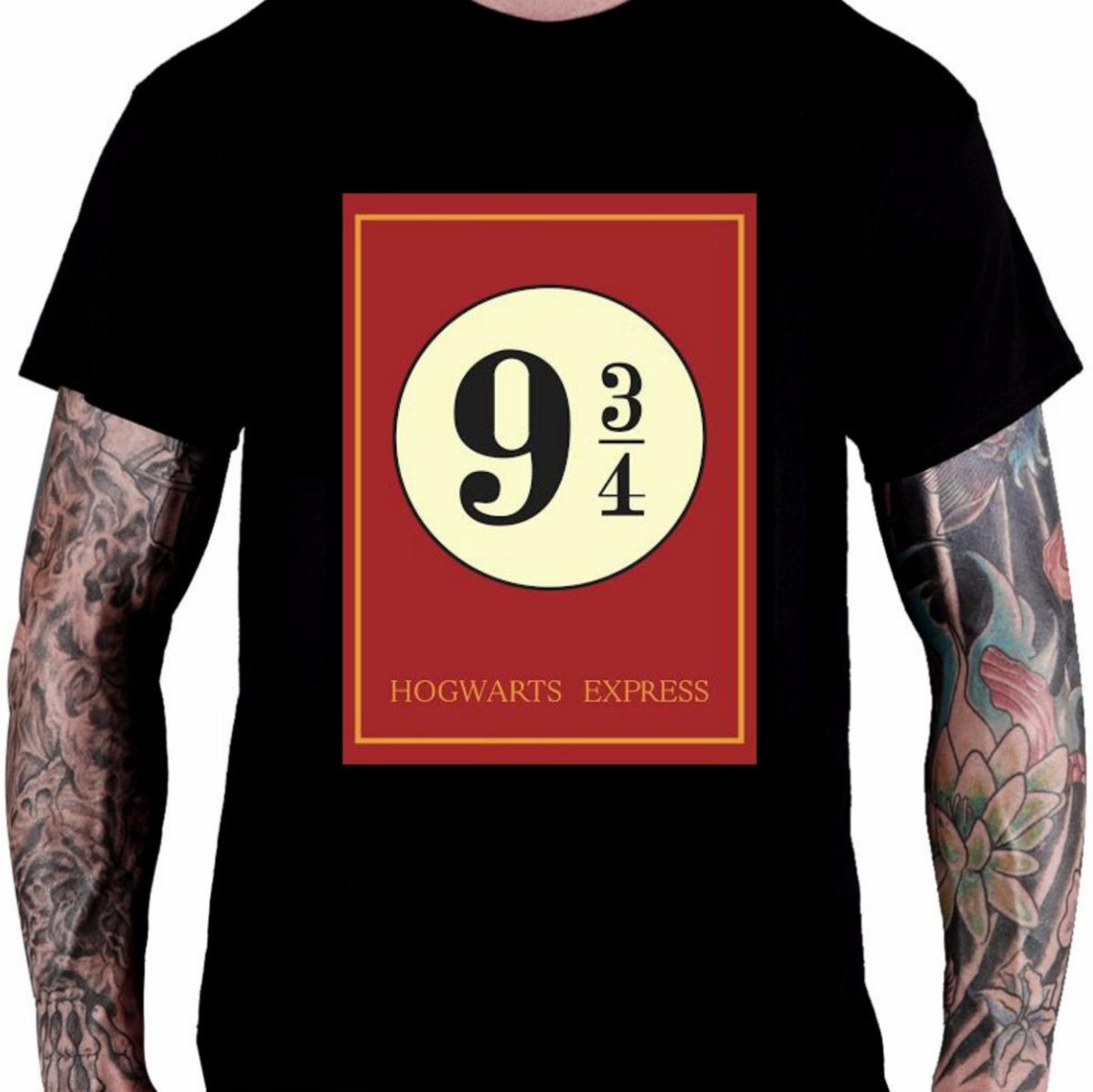 e06e1ce3d camiseta camisa harry poter hogwarts express 9 3/4 trem d90. Carregando  zoom.