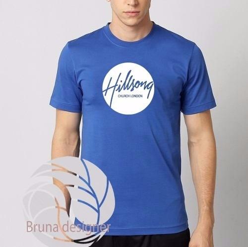 camiseta camisa  hilsong united rock gospel