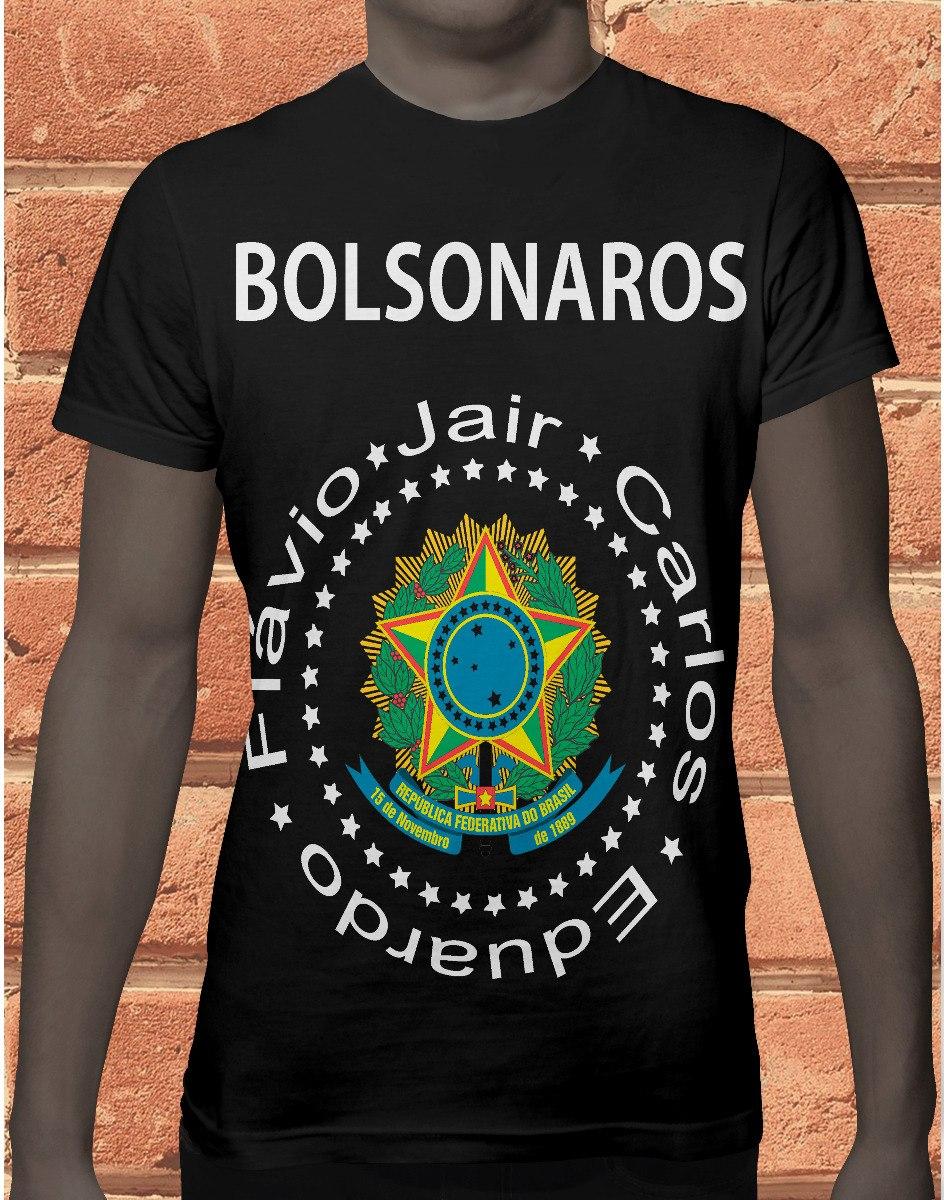 camiseta camisa jair bolsonaro presidente mito 2018 812 . Carregando zoom. 28717dfac0381