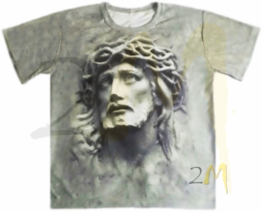 61228b969 Camiseta Camisa Jesus Cristo 3d Religiosa Baby Look Linda 2m - R  69 ...