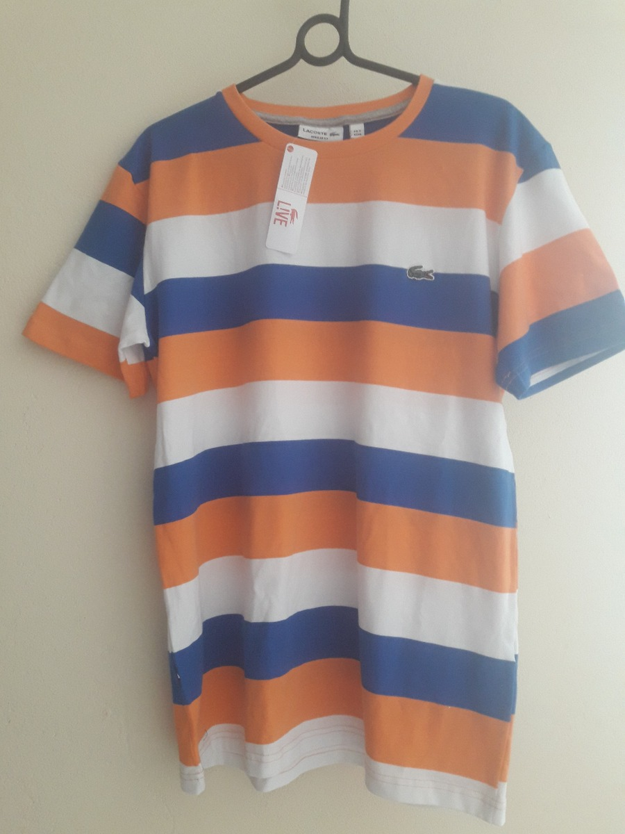 ... c22bd630cc camiseta camisa lacoste manga curta masculina original peru.  Carregando zoom. 15dad32562