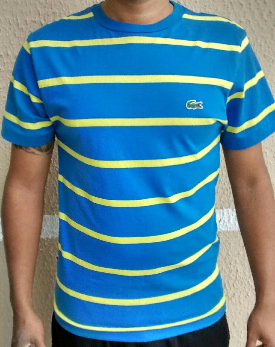 Camiseta Camisa Lacoste Original Listradas R 99 90 Em Mercado Livre