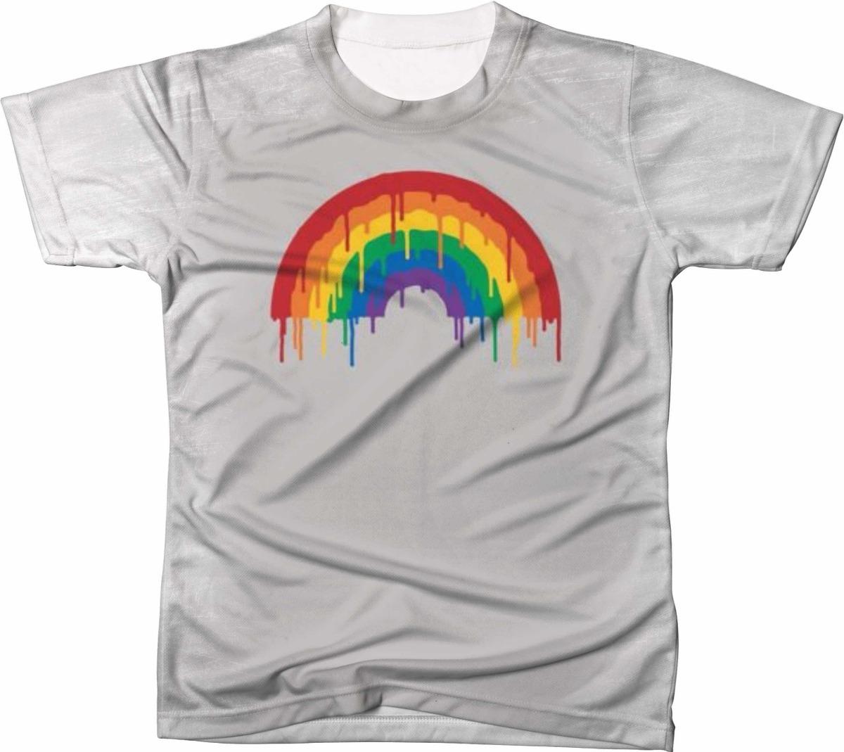 dd285b545 camiseta camisa lgbt arco iris. Carregando zoom.