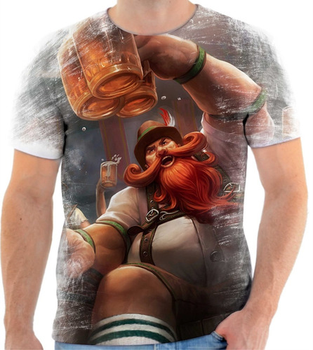 camiseta camisa lol league of legends gragas oktuberfast