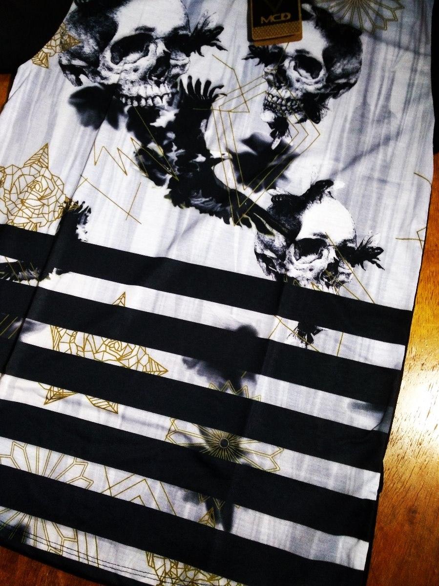 b6680703fe37a camiseta camisa long masculina surf mcd skull. Carregando zoom.