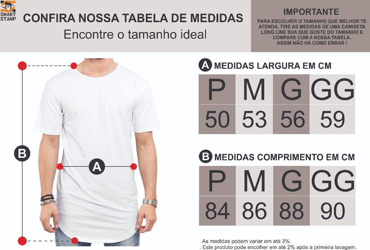 6b9cd36d8 camiseta camisa longline lisa unissex 100% algodão casual. Carregando zoom.