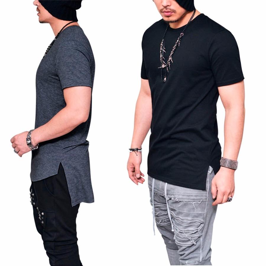 be5c89e218 camiseta camisa longline oversized masculina longa alongada. Carregando  zoom.
