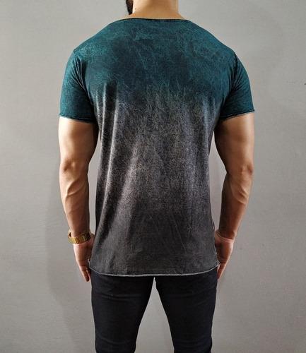 camiseta camisa longline oversized masculina swag