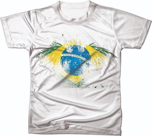 camiseta camisa manga curta copa do mundo seleção futebol 02