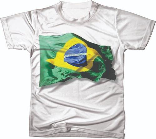 camiseta camisa manga curta copa do mundo seleção futebol 03