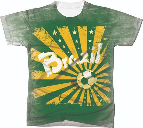 camiseta camisa manga curta copa do mundo seleção futebol 08