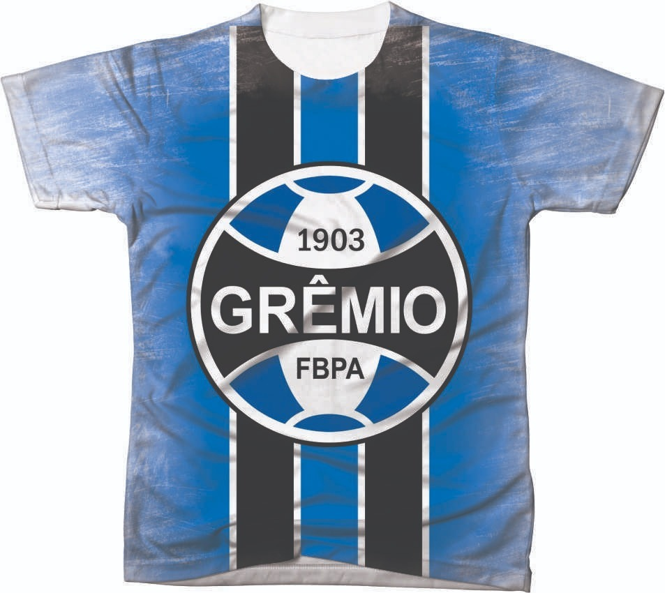 Camiseta Camisa Manga Curta Gremio Futebol Club Time 01 - R  49 5af3bd2d3fb04