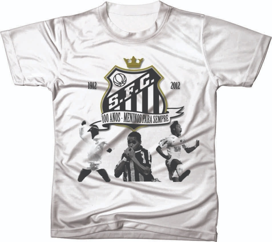 71f781b593 camiseta camisa manga curta santos futebol club time 02. Carregando zoom.