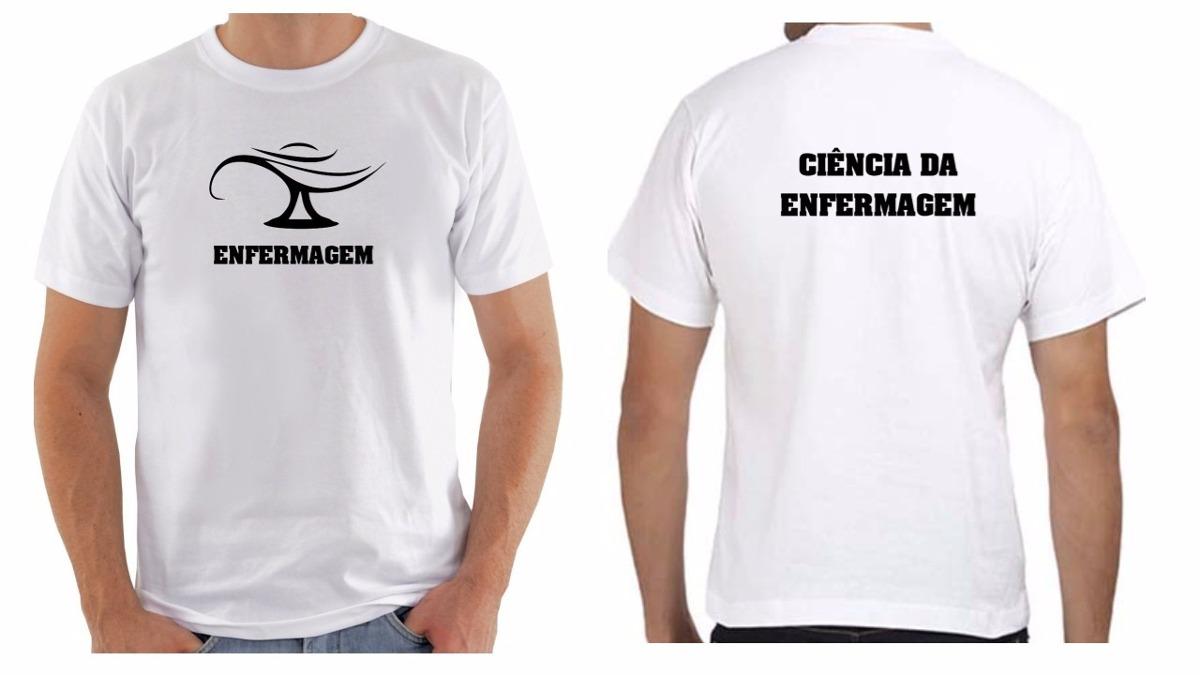 camiseta camisa masculina personalizada enfermagem cursos. Carregando zoom. 589548c6de2