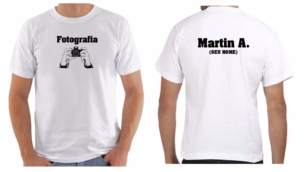 576a767dcb camiseta camisa masculina personalizada fotografo com nome. Carregando zoom.