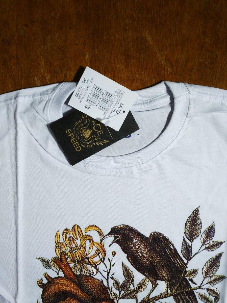 camiseta camisa masculina surf mcd bird skull. Carregando zoom. a6386df4965
